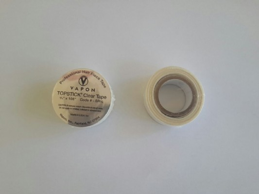 "TOPSTICK CLEAR TAPE ROLL 3/4""x 108"